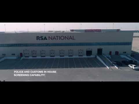 RSA National's Air Cargo Terminal In DWC