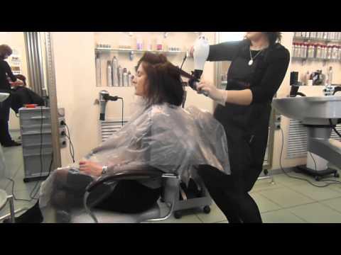 """Кератиновое выпрямление волос в салоне красоты """"Шампань"""""""