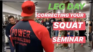 Correct Your Squat With Mike O'Hearn