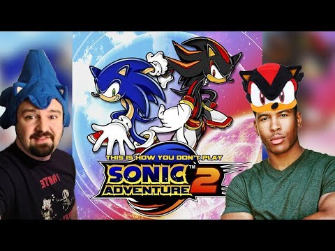 This is How You DON'T Play Sonic Adventure 2 (CartmanKusangi Edition)