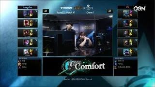 LZ vs CJ Game 1 Highlights - LONGZHU IM vs CJ ENTUS - Week 12 LCK Champions Korea Summer 2015
