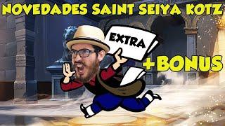 TIO NEWS: NUEVO PARCHE SAINT SEIYA KOTZ (BONUS EXTRA AL FINAL)