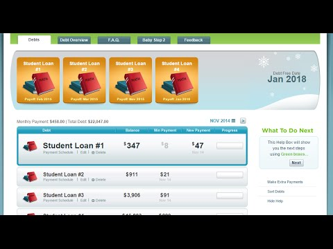 How To Use The Debt Snowball Calculator  Youtube
