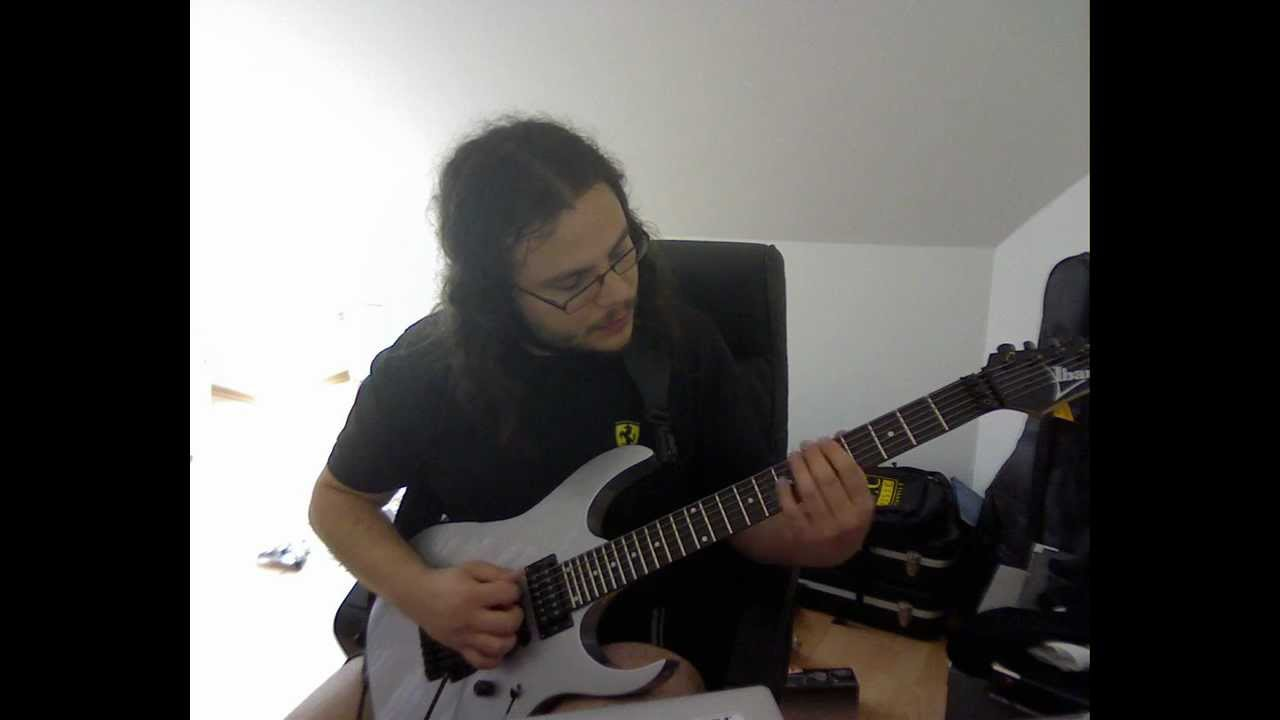 Ibanez RG 370b / CACophony ninja (just for testing) - YouTube