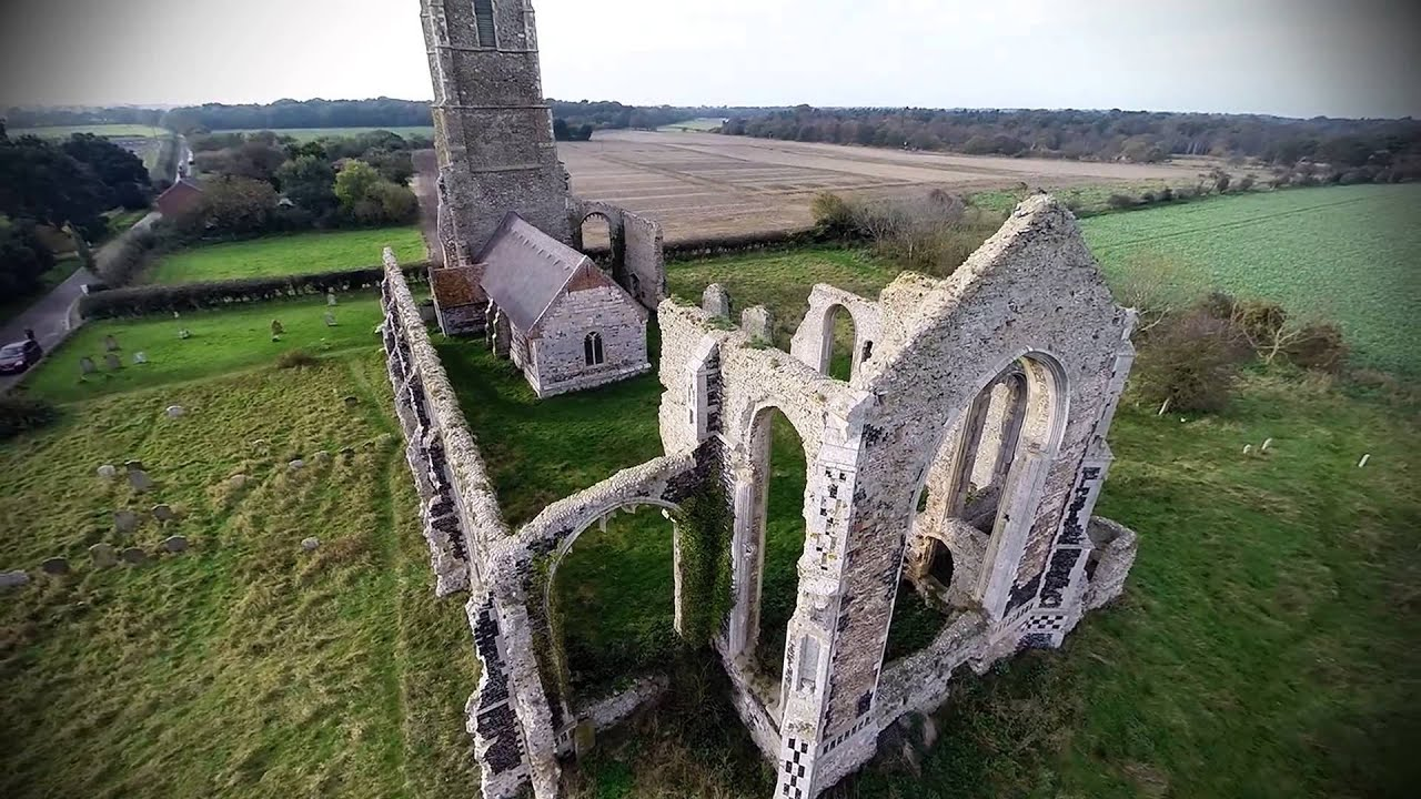 Covehithe Southwold St Andrews Church Ruins Suffolk