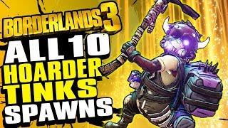 Borderlands 3 BEST Legendary Farm | All Loot Tinks Spawn Locations