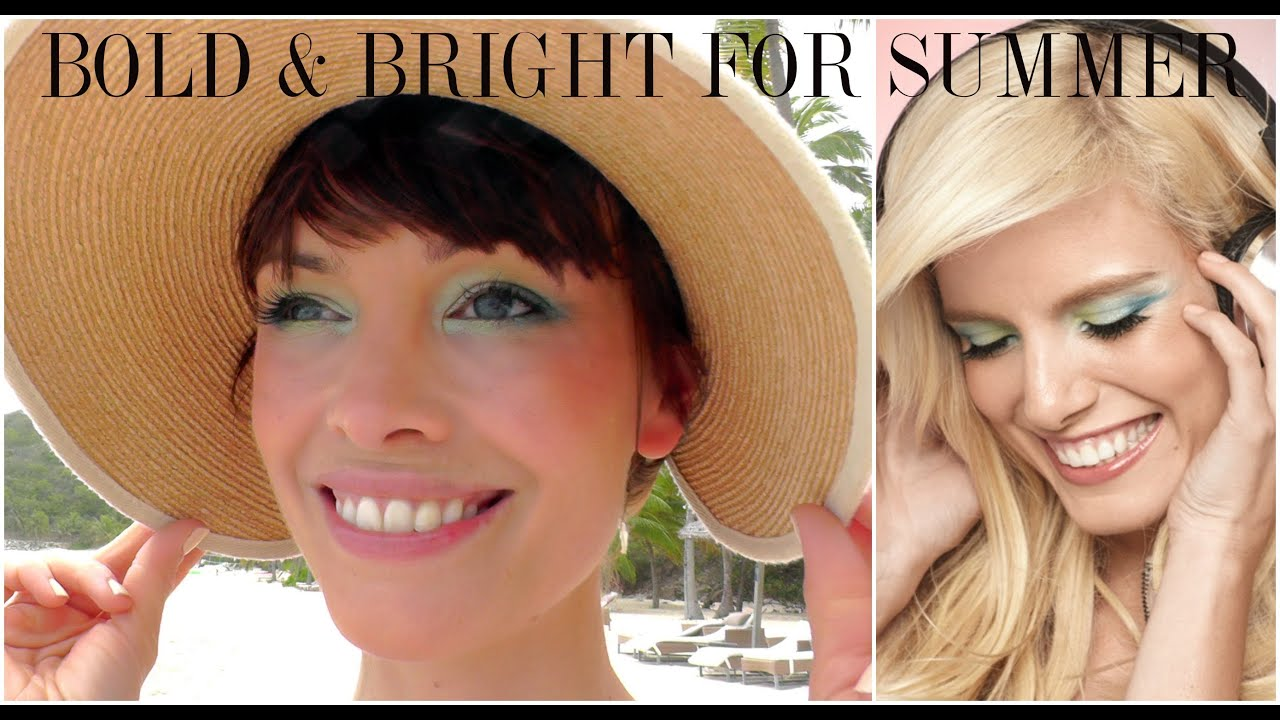 Tutorial: Bare Minerals Spring 2013 Look Into The Wild - eyeshadow ...