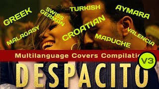 Despacito Multi Language 3rd version  (last 8 languages)