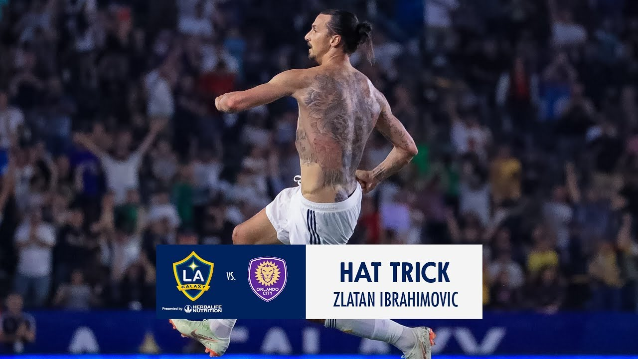 WATCH  Zlatan Ibrahimović scores his first hat trick in MLS. LA Galaxy edeccce71