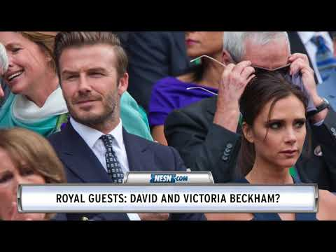 David Beckham, other world-class athletes expected to attend royal wedding