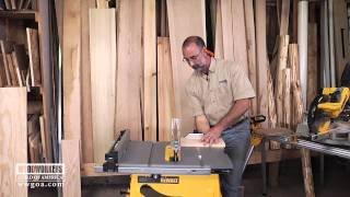 Selecting A Blade For A Table Saw