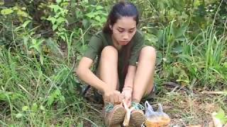 Primitive Technology: How to make Catapult | Wilderness Technology