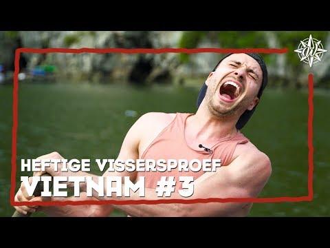 HEFTIGE VISSERS CHALLENGE | VIETNAM #3 | Marije & Lise VS Furtjuh & Thomas