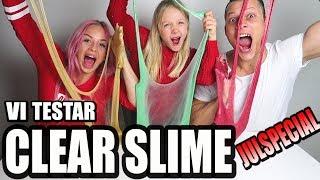 VI TESTAR CLEAR SLIME - JULSPECIAL* med ett 10-årigt proffs*