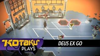 Kotaku Plays Deus Ex Go