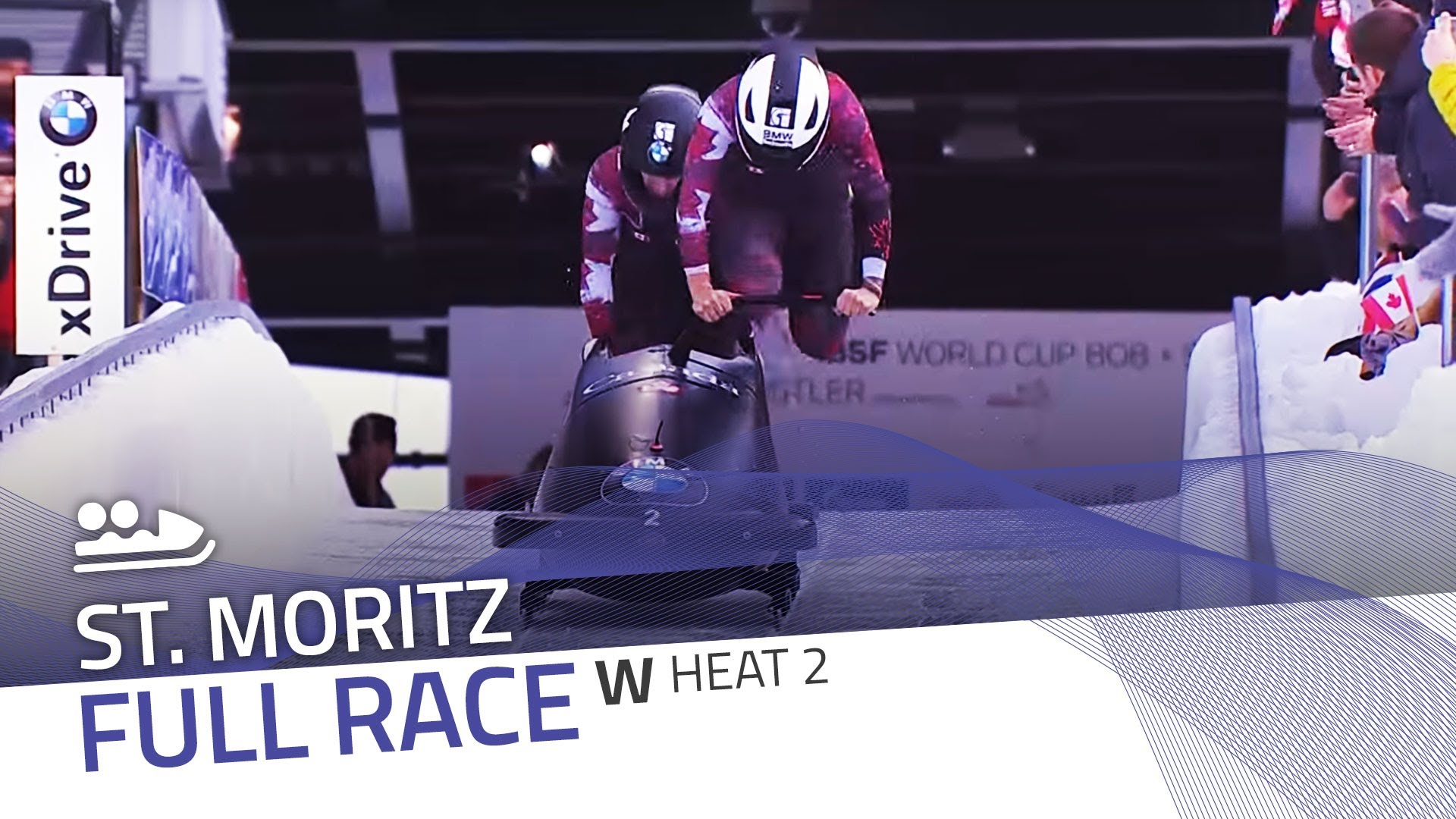 St. moritz | bmw ibsf world cup 2015/2016 - women's bobsleigh heat 2 | ibsf official