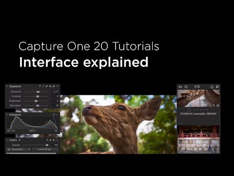 Capture One 20 Tutorials | Interface explained thumbnail