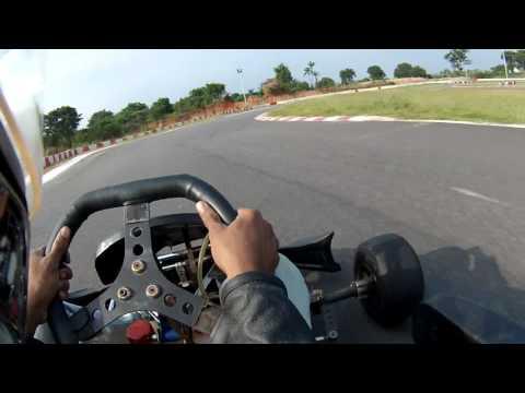 Rotax 125 max karting at Chicane leonia