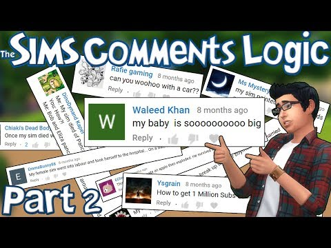 The Sims Comments Logic (PART 2)