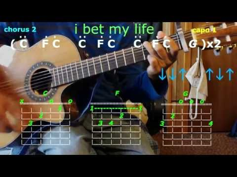 i bet my life imagine dragons guitar chords