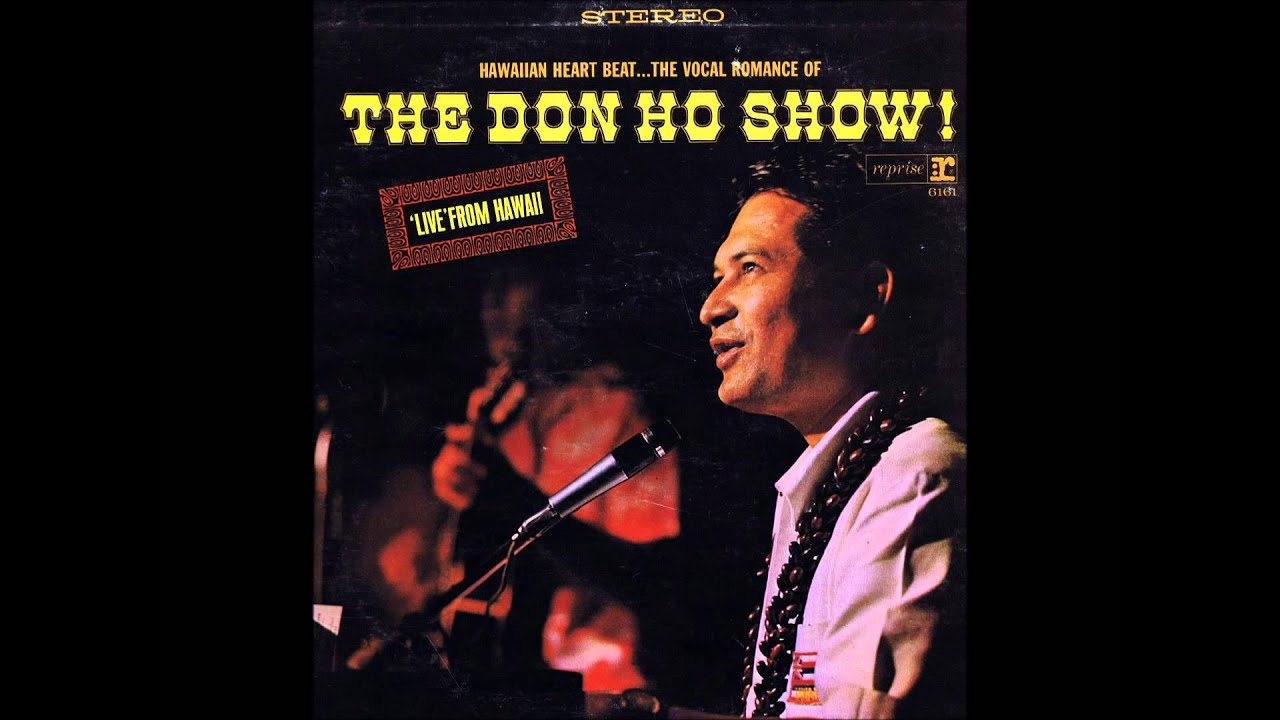 Don Ho Hawaiian Wedding Song 1965 Live