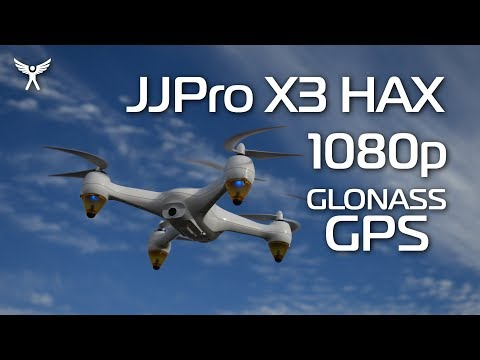 JJPro X3 HAX 1080p GLONASS GPS copter - it is a 50-50 thing!