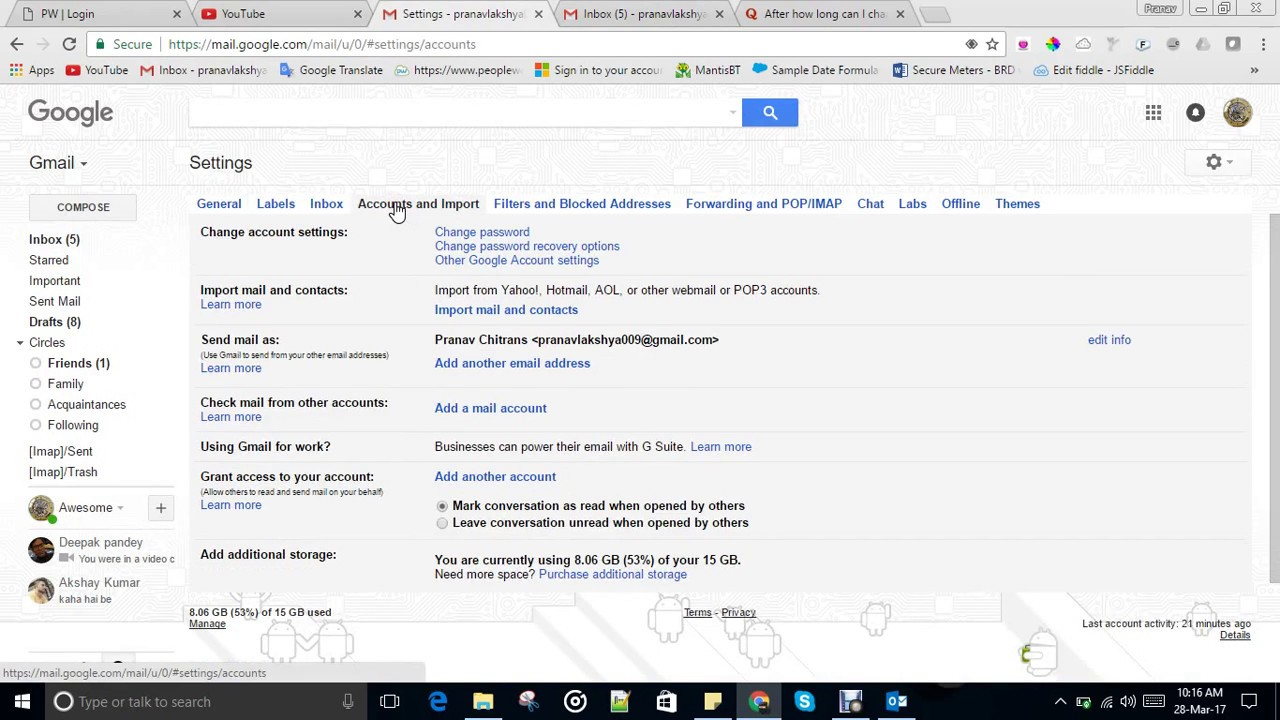 Change Youtube Channel Name Without Changing Gmail Account Name