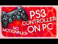 How to Connect PS3 Controller to PC (No Motioninjoy) - (TUTORIAL)