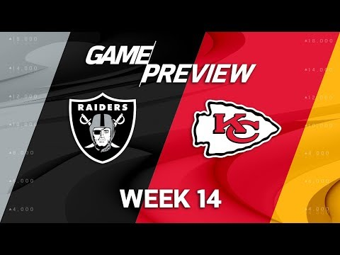 Oakland Raiders vs. Kansas City Chiefs | NFL Week 14 Game Preview | NFL Playbook