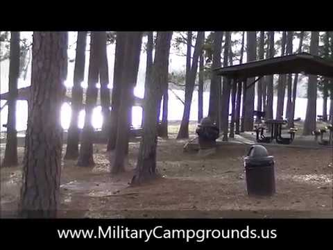 Video Tour of Wateree Recreation Area Shaw AFB SC  YouTube