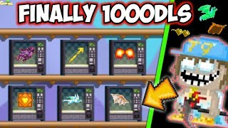 Selling All My Expensive Items !! P.t5 ( Finally 1000dls )   GrowTopia
