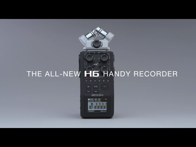 Zoom H6 Product Video 1