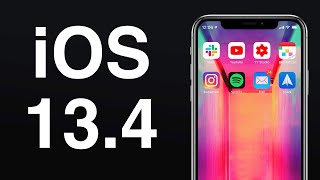 Apple Releases iOS & iPadOS 13.4: Here's What's New!