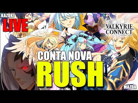 RUSH NA CONTA NOVA - Valkyrie Connect (LIVE)
