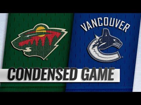 10/29/18 Condensed Game: Wild @ Canucks