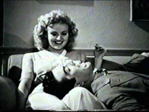 Victor Mature From Footlight Serenade - Land On Your Feet - Restored Scene With Betty Grable