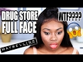 I CANT BELIEVE WHAT HAPPENED - DRUG STORE FIRST IMPRESSIONS USING ONE BRAND - MAYBELLINE