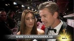 Markus Lanz und Ehefrau Angela Gessmann im Interview - GOLDENE KAMERA 2013