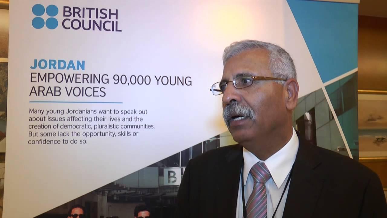 capítulo espectro Pegajoso  British Council Educators for the Future in Jordan - YouTube