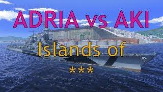 World of Warships: ADRA vs AKI - Islands of Ice