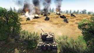 HUGE TRENCH DEFENSE CLEARED & CAPTURED, KURSK 1943 | Men of War: Assault Squad 2 Gameplay