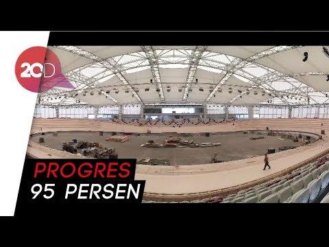 Velodrome Rawamangun Terus Dikebut Jelang Asian Games 2018