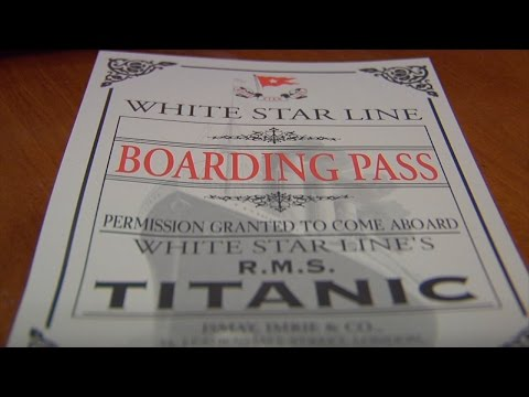 Liberty Science Center Recreates What it was Like Onboard the Titanic