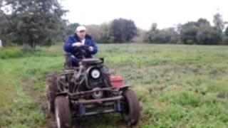 Самодельный трактор. ЗАЗ-ГАЗ-ВАЗ