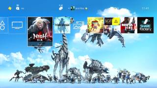 HORIZON ZERO DAWN PLATINUM THEME (Free gift for earning the platinum trophy)