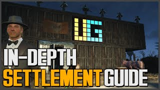 Fallout 4: How to Build Settlements Guide [Advanced Tutorial - Power, Setting Traps, Everything]