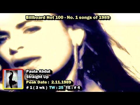 Billboard Hot 100 #1 Songs of 1989 1080p HD