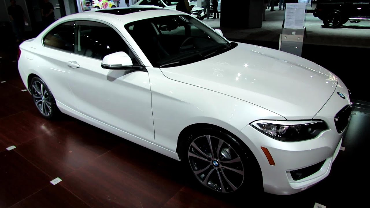 2014 BMW 228i Coupe  Exterior and Interior Walkaround  2014 New