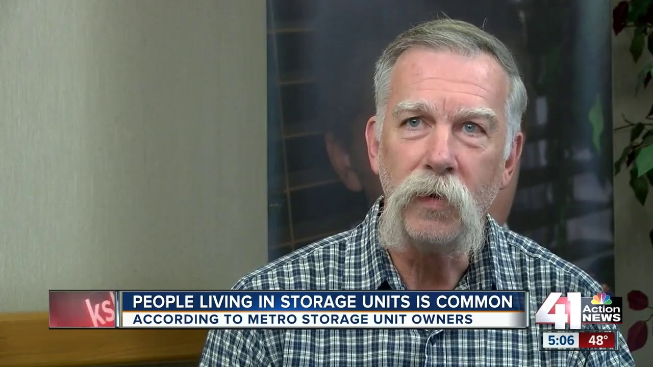 Living in storage units is illegal, owners say