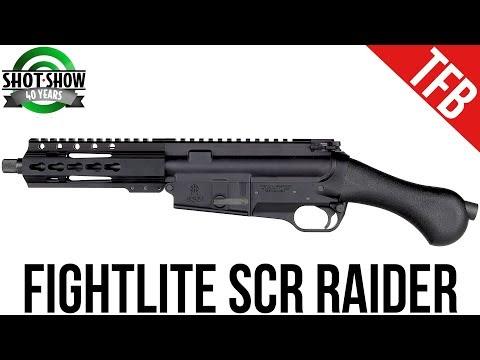 [SHOT 2018] FightLite SCR Raider and MCR Light Machine Gun